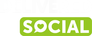 Delivered Social Green Logo